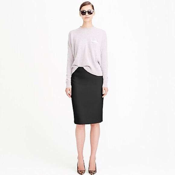 J. Crew Dresses & Skirts - J. Crew No. 2 Pencil Skirt in Double Serge wool